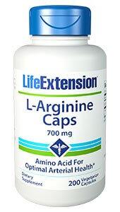 Life Extension L Arginine 700 mg 200 Capsules
