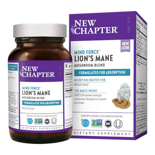 New Chapter LifeShield Mind Force  60 Capsules