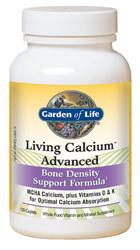 Garden of Life Living Calcium Advanced  120 Caplets