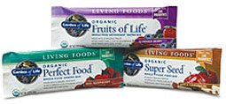 Living Foods Bars Page