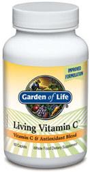 Garden of Life Living Vitamin C  60 Caplets