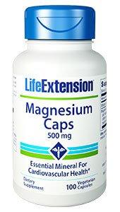 Life Extension Magnesium 500 mg  100 Capsules