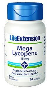Life Extension Mega Lycopene 15 mg 90 Softgels