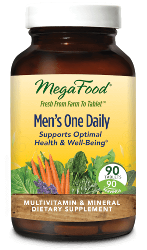 MegaFood Mens One Daily  90 Tablets