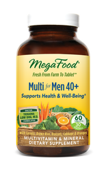 MegaFood Multi for Men 40 Plus  120 tablets 2 Daily