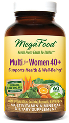 MegaFood Multi for Women 40 Plus  2 Daily 120 Tablets