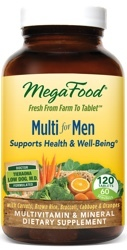 MegaFood Multi Men  Two Daily 120 Tablets
