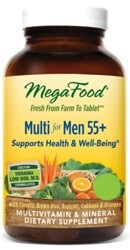 MegaFood Multi Men 55 Plus Two Daily  60 Tablets
