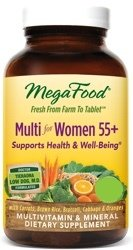 MegaFood Multi Women 55 Plus Two Daily  120 Tablets