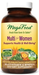 MegaFood Multi Women Two Daily  120 Tablets