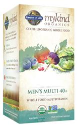 Garden of Life MyKind Organics Mens 40 Plus Multi  60 Tablets