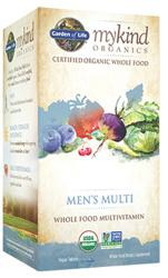 Garden of Life MyKind Organics Mens Multi  120 Tablets