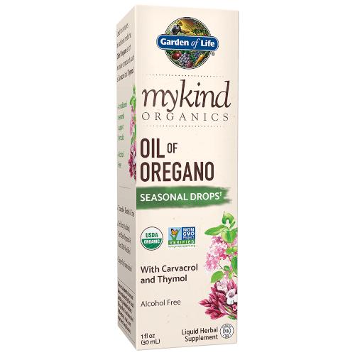 Garden of Life MyKind Organics Oil of Oregano Drops  1 oz Liquid