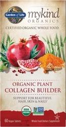 Garden of Life MyKind Organics Plant Collagen Builder  60 Tablets