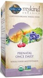 Garden of Life MyKind Organics Prenatal Once Daily  90 Tablets