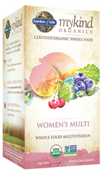 Garden of Life MyKind Organics Womens Multi  60 Tablets