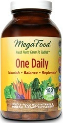 MegaFood One Daily  180 Tablets