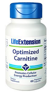 Life Extension Optimized Carnitine  60 Capsules