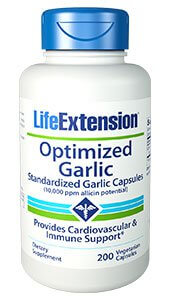 Life Extension Optimized Garlic  200 Capsules
