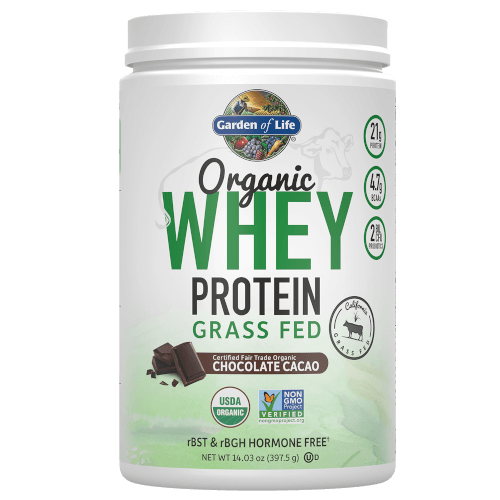 Organic Whey Protein Page