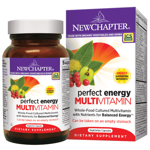 New Chapter Perfect Energy  96 Tablets