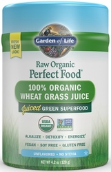 Perfect Food Raw Wheat Grass Juice Page