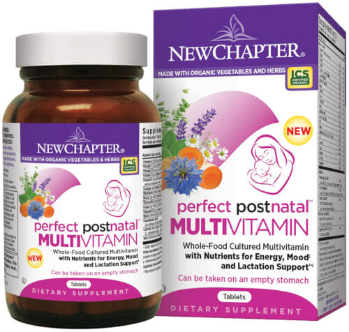 New Chapter Perfect Postnatal  192 Tablets