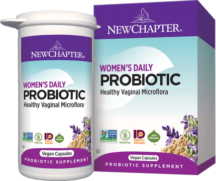New Chapter Probiotic Womens Daily Shelf Stable 60 Capsules