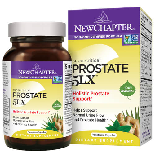 New Chapter Prostate 5LX  60 Liquid VCaps
