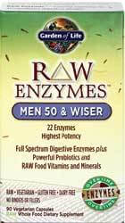 RAW Enzymes Men 50 and Wiser Page