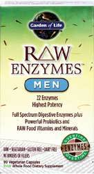 RAW Enzymes Men Page