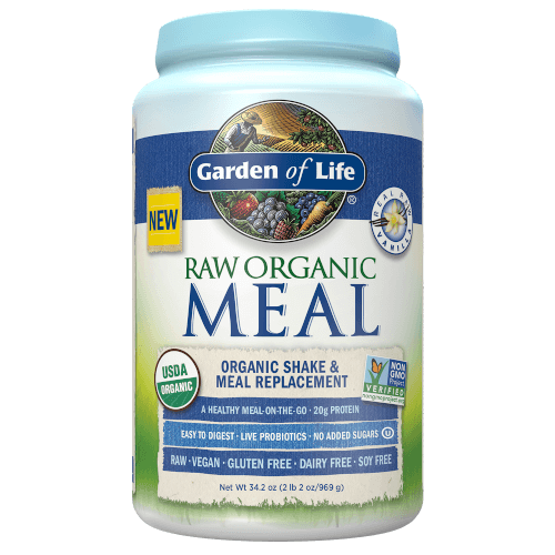 Raw Organic Meal Page