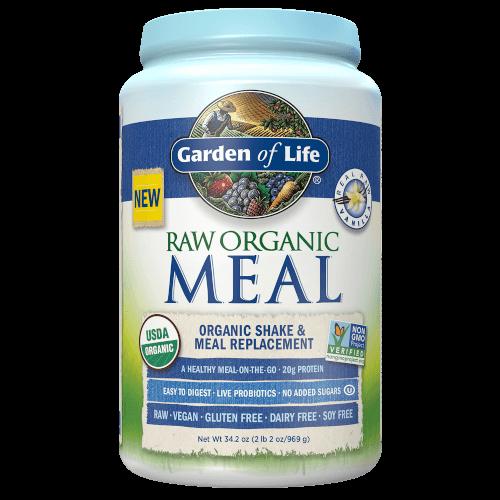 Garden of Life Raw Organic Meal  Vanilla 969 gram