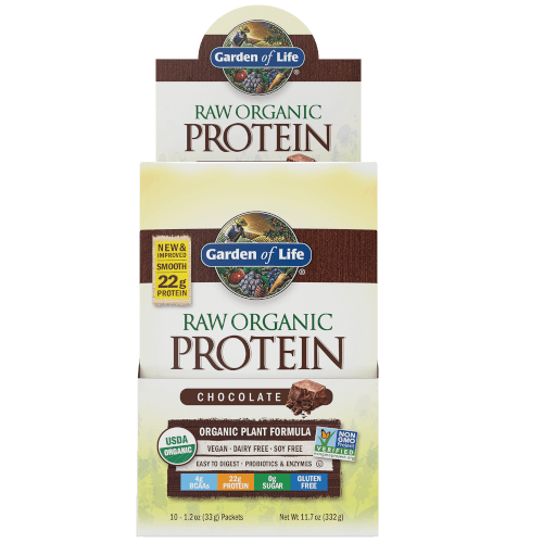 Raw Organic Protein Page