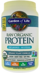 Garden of Life Raw Organic Protein Unflavored 568 grams powder