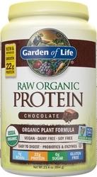 Garden of Life Raw Organic Protein  Chocolate Cacao 664 grams powder