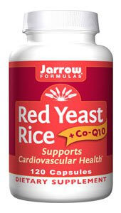 Jarrow Red Yeast Rice + CoQ10  120 Capsules
