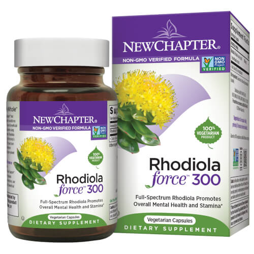 New Chapter Rhodiolaforce  300 mg 30 Capsules