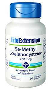 Life Extension Se Methylselenocysteine 200 mcg  90 capsules