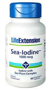 Life Extension Sea Iodine 1000 mcg  60 capsules