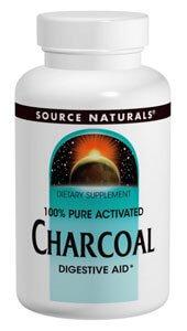 Health Food Emporium Source Natural Charcoal 260 mg 100 Capsules