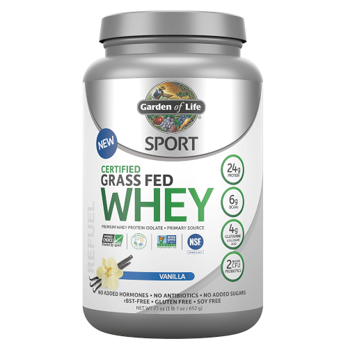 SPORT Certified Grass Fed Whey Page