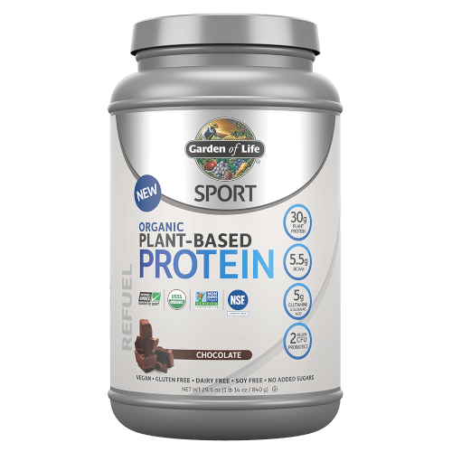 Garden of Life SPORT Organic Plant-Based Protein Chocolate 840 gram