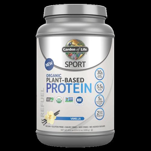 Garden of Life SPORT Organic Plant-Based Protein Vanilla 806 gram