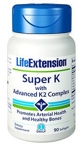 Life Extension Super K with Advanced K2  90 Softgels