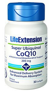 Life Extension Super Ubiquinol CoQ10   200 mg 30 Softgels