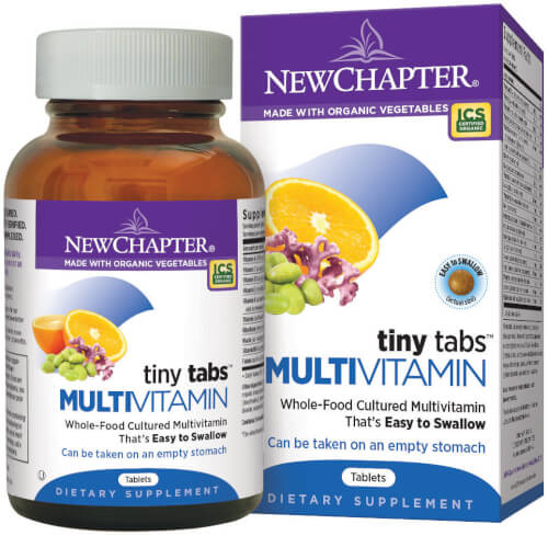 New Chapter Tiny Tabs Multi  192 Tablets