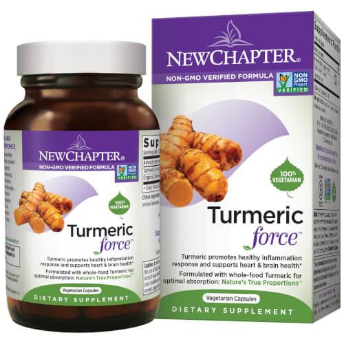 New Chapter Turmericforce  120 Liquid VCaps