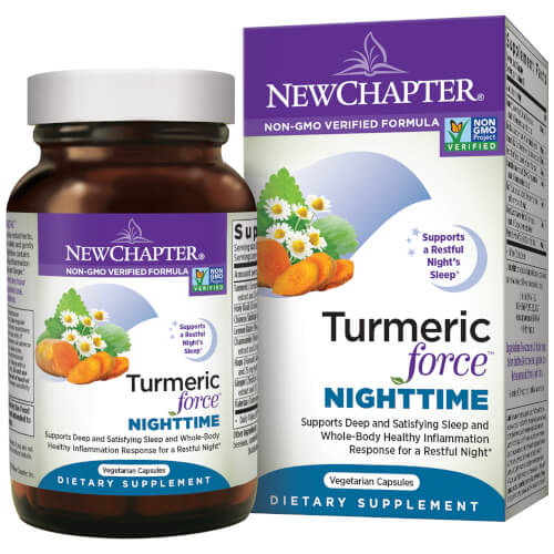 New Chapter TurmericForce Nighttime  60 Capsules
