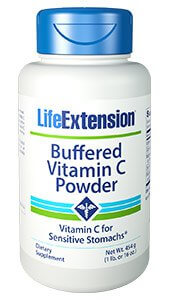 Life Extension Vitamin C Buffered 454 g Powder